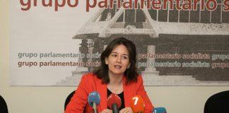 Ascensión Ludeña, portavoz del Grupo Parlamentario Socialista en la Comisión de Educación y Cultura de la Asamblea Regional.