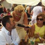 El alcalde de Cartagena, José López, visitó las fiestas de La Manga