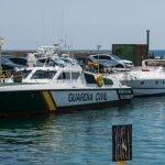 El Servicio Marítimo de la Guardia Civil interceptó este fin de semana casi mil kilos de hachís (imagen de archivo).