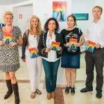 Los asistentes a la presentación de las Fiestas 2015 de La Manga.