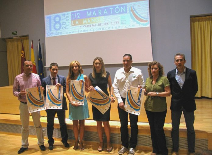 Presentación de la edición 2014 de la Media Maratón de La Manga