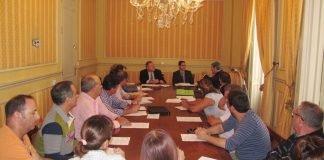 Reunión celebrada ayer martes del grupo de trabajo de Actividades Náuticas