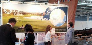 Imagen del stand de Murcia en la Feria Senior Stockholm 2015