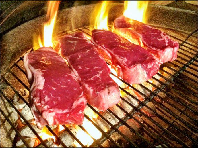 Carne de ternera a la barbacoa.