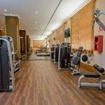 Instalaciones renovadas del gimnasio del Spa de La Manga Club.