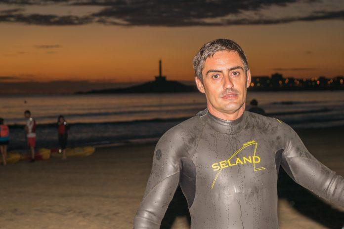 Javier Perez, único atleta local en Ocean Lava 2015.
