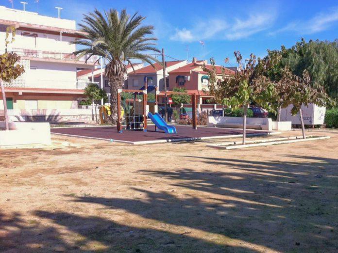 Parque de Mar de Cristal, una de las actuaciones previstas por el Ayuntamiento de Cartagena.