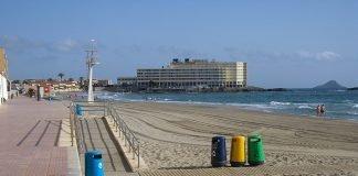 Panorámica de la playa del Galúa.