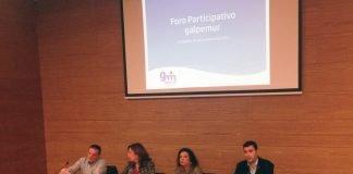 Imagen del foro organizado ayer en Cartagena donde participó la directora general de Pesca, Carmen Teodora Morales