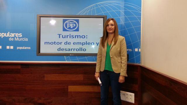 La candidata popular al Congreso de Diputados, Ascensión Carreño, ha anunciado un plan de captación de inversiones para La Manga.