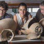 Juan Pinedo, Carlota Pérez-Reverte y Felipe Cerezo, artífices del primer museo subacuático español puesto en marcha en 2014 y que, sin apoyo económico, aguantó abierto un mes