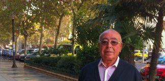 José Antonio Romero, presidente de la Asociación de Vecinos de Playa Paraíso.