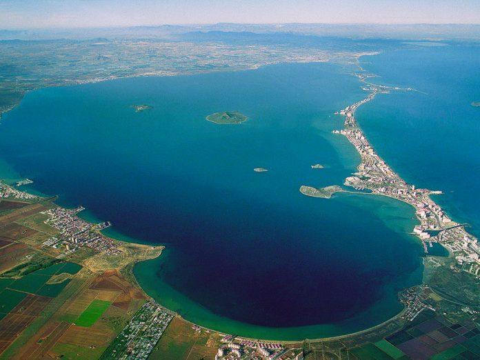 El Mar Menor y sus islas.