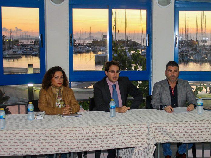 El director general de Costas y Puertos, Salvador García-Ayllón presentó el documento base para la revitalización de La Manga con cargo a fondos de la UE