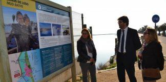 Turismo inauguró ayer una nueva cartelería para poner en valor los lodos de San Pedro del Pinatar