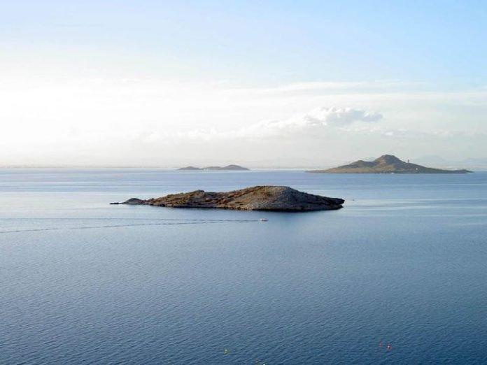 Algunas de las islas del Mar Menor.