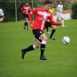 Chus Hevia, en su debut ayer jueves con el F.C. Cartagena.