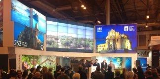 Stand de la Región de Murcia en la Feria Internacional de Turismo, FITUR.