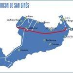 Mapa de la diputación cartagenera del Rincón de San Gines.