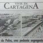 En 1990 empiezan a aparecer en la prensa las pretensiones segregacionistas de la zona. En la imagen, reportaje realizado para Diario 16 Murcia.