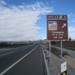 La Comunidad instalará carteles en las carreteras como este para promocionar La Manga Club.