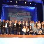 La gala del deporte de San Javier reunió ayer a todos los deportistas destacados el año pasado.