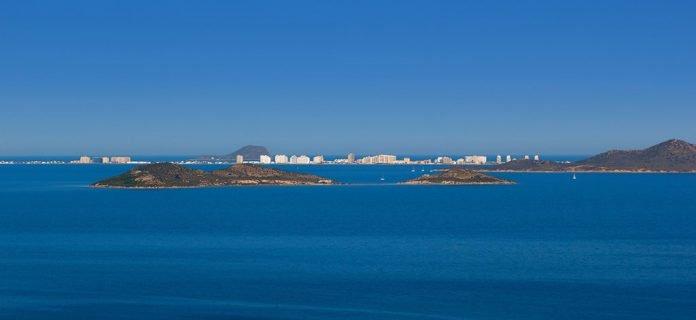 Vista del Mar Menor.