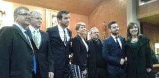 La consejera de Cultura, Noelia Arroyo, fue la encargada de realizar el pregón de Semana Santa este año en Cabo de Palos