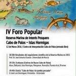 Medio Ambiente organiza el próximo sábado en Cabo de Palos el IV foro Reserva Marina de Interés Pesquero