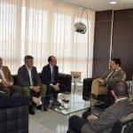 """Durante una reunión mantenida ayer el Colegio de Ingenieros de Canales y Puertos ofreció """"apoyo técnico"""" al Ayuntamiento de San Javier."""