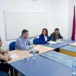 Los ayuntamientos de San Javier y Cartagena mantuvieron una reunión en La Manga Consorcio para tratar aspectos relacionados con la zona.