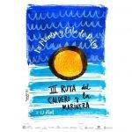 Cartel de la III Ruta del Caldero y la Marinera, en La Manga y Cabo de Palos.