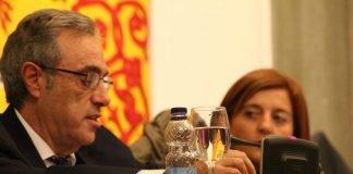 Los dos concejales de CSSP, Francisco Martínez y Pilar Marcos, han denunciado el abandono que tiene sumido el Ayuntamiento a las diputaciones (imagen de archivo)