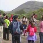 Imagen de archivo de una de las visitas guiadas organizadas en Calblanque.