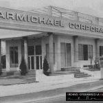 Fotografía de la sede Carmichael Corporation en La Manga en 1997.