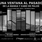 """Cartel anunciador de """"Una Ventana al Pasado"""""""