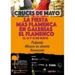 Galerías El Flamenco inició ayer viernes sus Cruces de Mayo con un programa de actividades que se mantendrá hasta mañana domingo.