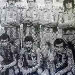 La plantilla del CD La Manga durante la temporada 1987/88