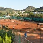 Las instalaciones del complejo La Manga Club acogió el Campeonato de España de Tenis para Veteranos
