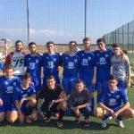 Los Juveniles del Los Belones C.F., campeones de la LIga Local de Fútbol Base de Cartagena.