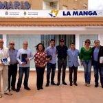 Representantes vecinales y de los Ayuntamientos de Cartagena y San Javier asistieron a la entrega de los premios de la III Ruta del Caldero y la Marinera.