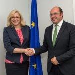 Sánchez no ha dudado en desplazarse a Bruselas para pedir más dinero de la UE destinado a la regeneración del Mar Menor