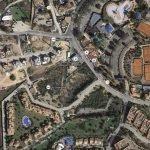 Mapa áereo con las parcelas puestas en venta en Atamaría