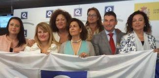 Ayer martes fueron entregadas las banderas de Q de calidad a playas.