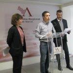 Antonio Urbina (en el centro) ha presentado una batería de iniciativas parlamentarias relacionadas con el medio ambiente. Imagen de archivo