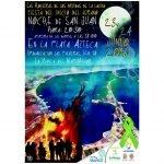 Cartel anunciador de las fiestas de inicio de verano organizado por la AAVV de La Manga