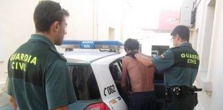 La Guardia Civil detuvo a un vecino de La Unión que realizó diversos robos en Playa Honda