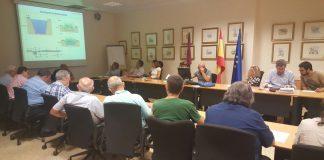 El comité del Mar Menor se reunió ayer para perfilar los filtros verdes que se van a instalar en El Albujón