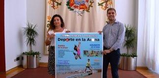 Ayer se presentó en Cartagena el programa deportivo programado para la costa este verano