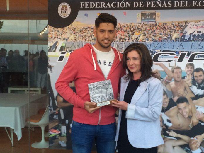 Sergio Jiménez, uno de los jugadores que será homenajeado hoy.